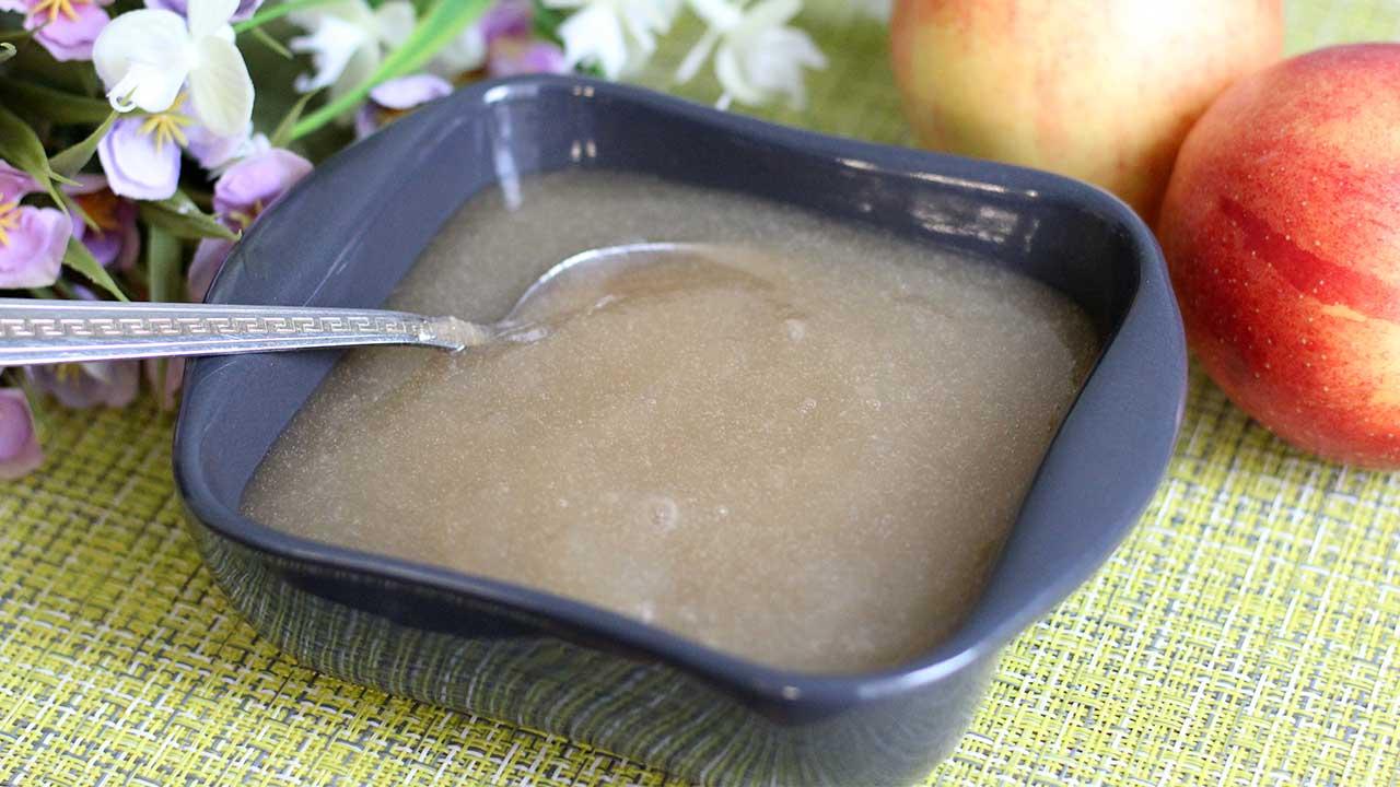 Яблочное пюре для зефира