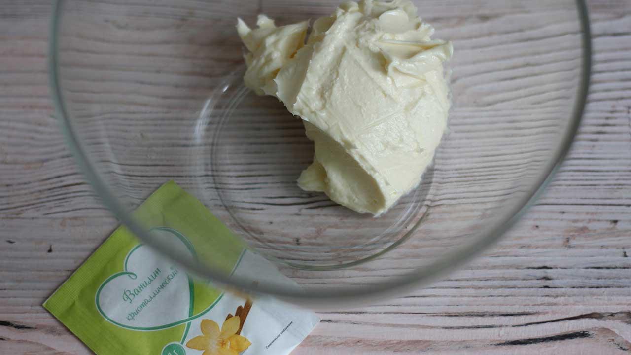 Сливочное масло с ванилином