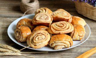 Нежное слоистое печенье
