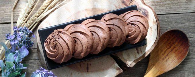 Простое шоколадное печенье
