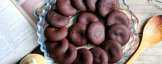 Шоколадные пряники с варёной сгущёнкой